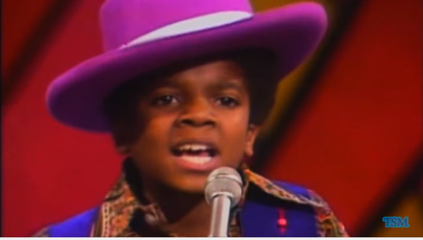 Even as a child, Michael Jackson had it in him