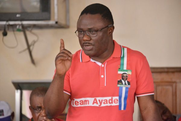 Ben Ayade, in whom hawkers have a champion