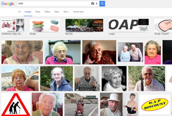 Meet the real OAPs
