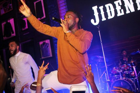 Evidently, Jidenna is psyched to perform with Burna Boy