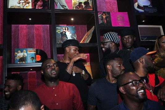Wizkid was in town for Jidenna... and Timaya