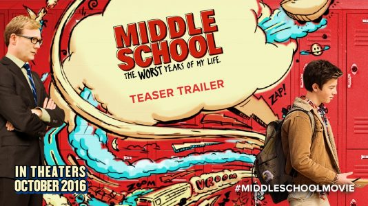 Middle School: The Worst Years of my Life - Friday, October 7