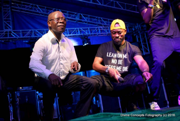 Oshiomhole 'bends down low'