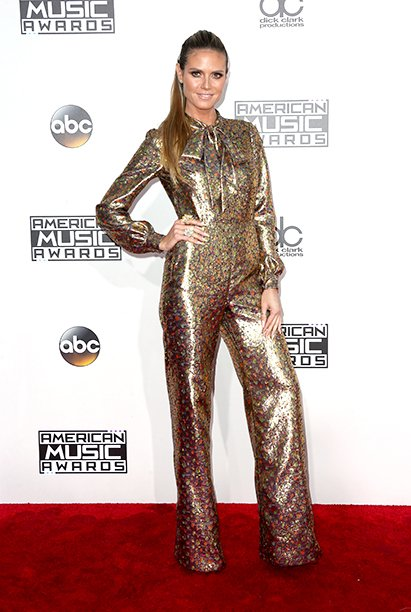 LOS ANGELES, CA - NOVEMBER 20: Model Heidi Klum attends the 2016 American Music Awards at Microsoft Theater on November 20, 2016 in Los Angeles, California. (Photo by Frederick M. Brown/Getty Images)