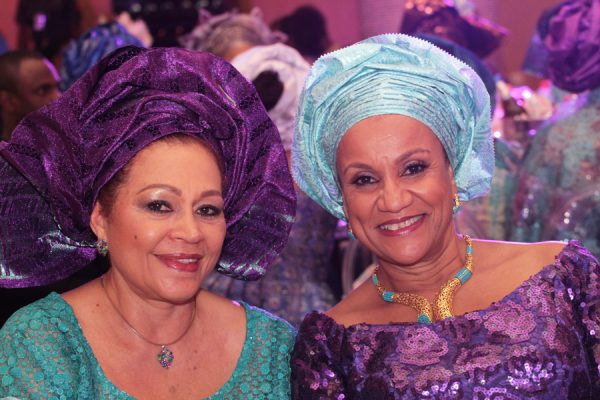 From left: Chief (Mrs) Esther Benson and Mrs. Yetunde Abraham.