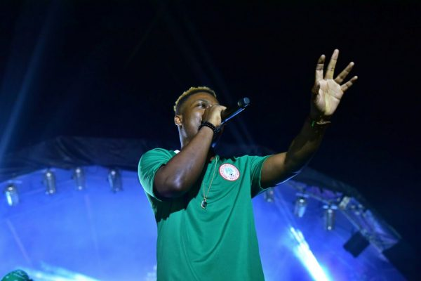 Olamide, the crowd favourite