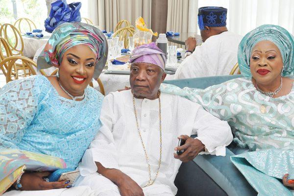 Bride's parent: Bride, Miss. Georgina Tolulope Adebutu; Chief Kesington Adebutu and Chief (Mrs) Rosemary Dakosta...