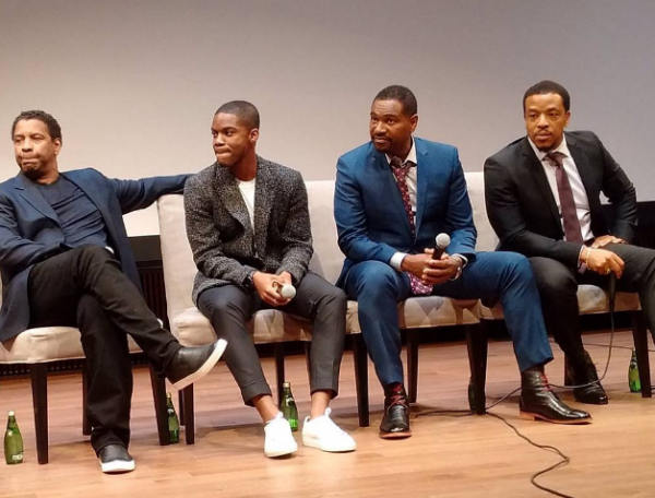 Some members of the Fences cast
