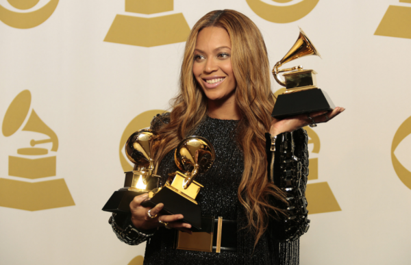 Beyonce was nominated for nine Grammy awards