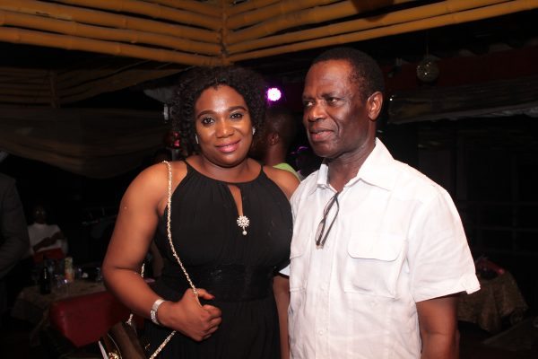 Chief Edwin Igbokwe and his wife, Oluchi.