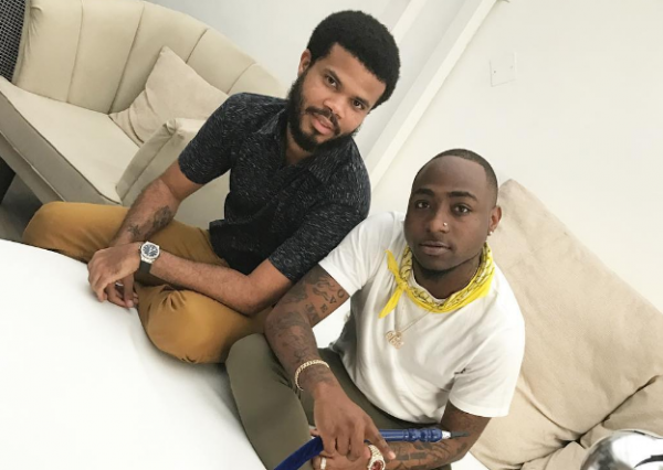 Davido and first manager, Asa Asika
