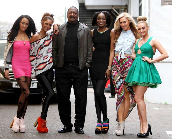 Matthew Knowles and the girls of 'From Above'