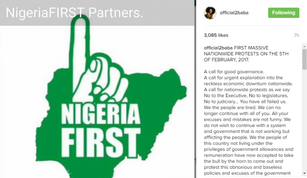 2face's clarion call