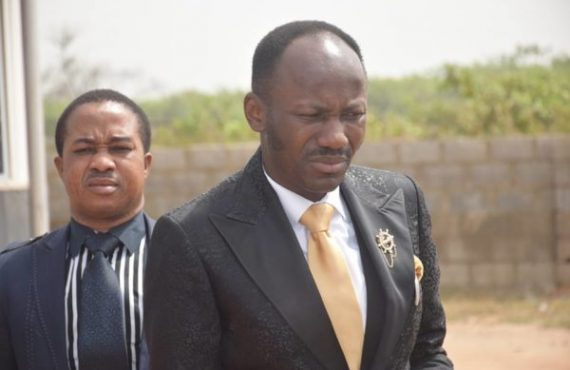 'The conversation was doctored' -- Apostle Suleman reacts to viral audio clip