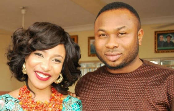 Tonto Dikeh and ex-husband Olakunle Churchill