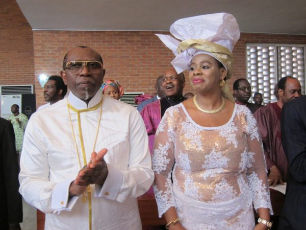 Pastor Ayo Orisajafor, former CAN President and his wife