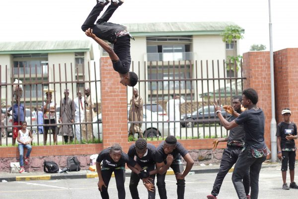 GCGT Port Harcourt contestants displaying his talent
