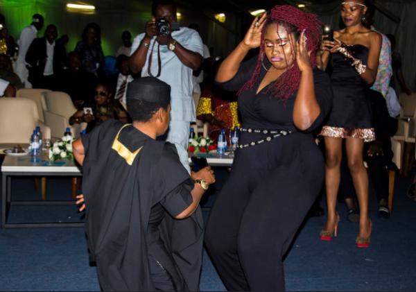 Osita Iheme and Lydia Forson face-off on the dance floor