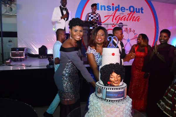 Sandra Eze, new host of The Inside Out Show and Agatha Amata