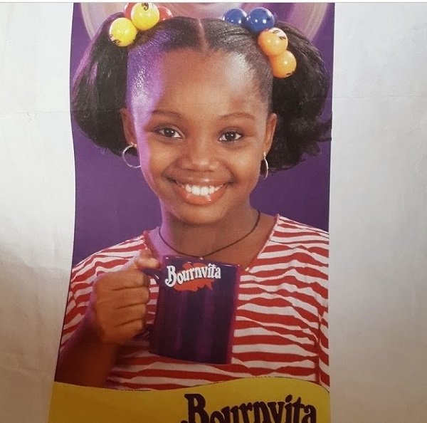 Ezeamaka as a Bournvita child model