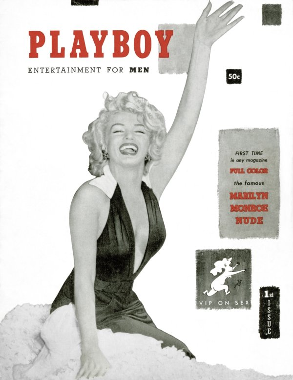 hughhef1953 Dec Cover_Marilyn Monroe