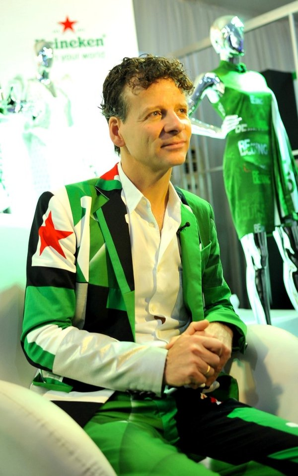 africa inspiredMark Van Iterson, Global Head Design of Heineken present at day 4 of the Heineken Lagos Fashion and Design Week 2017