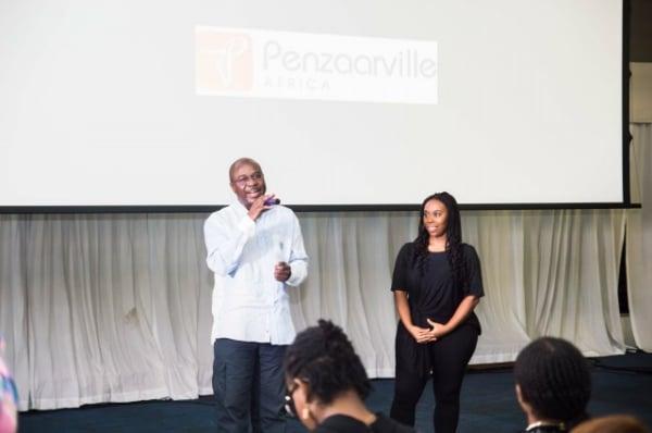 filmOyebode Ojeniyi, Managing Director, WAPIC Insurance and Ugoma Adegoke, Co-Founder, Lights Camera Africa!!!
