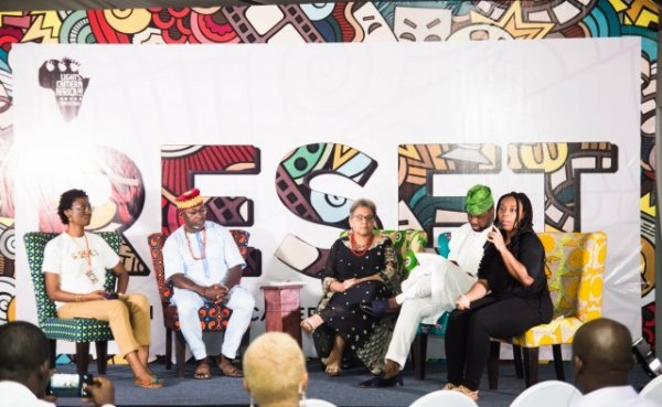 filmThe panel session at the Lights Camera Africa!!! 2017