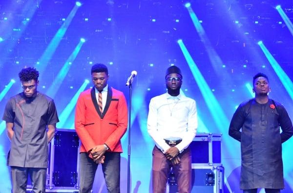 Final Four contestants.