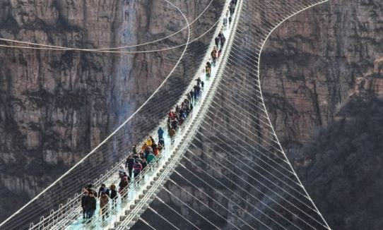 World's longest glass bridge | TheCable.ng