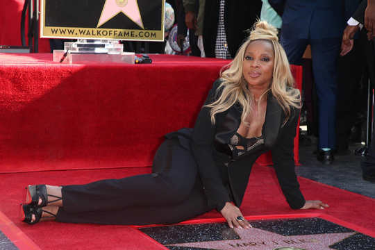 Mary J Blige honoured with Hollywood Walk of Fame star | TheCable.ng