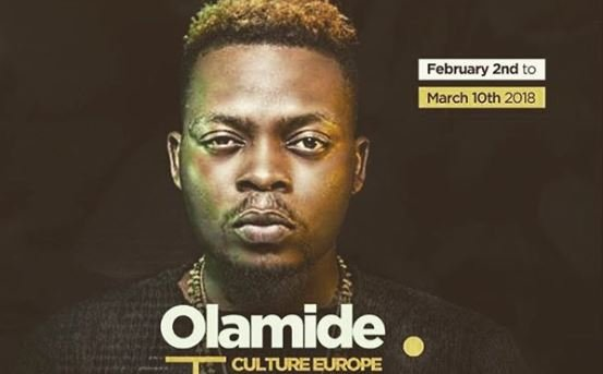 Olamide to go on tour of Europe | TheCable.ng