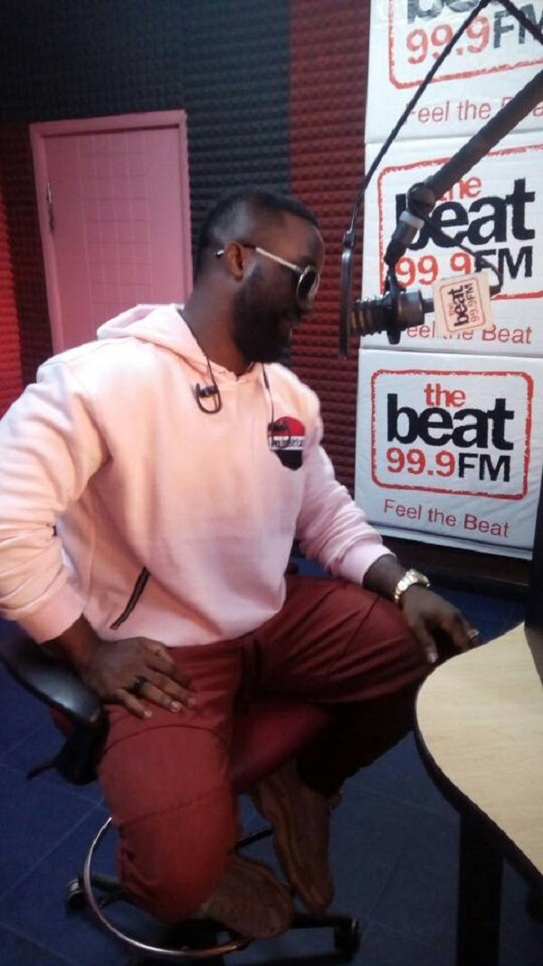 Iyanya at Beat FM