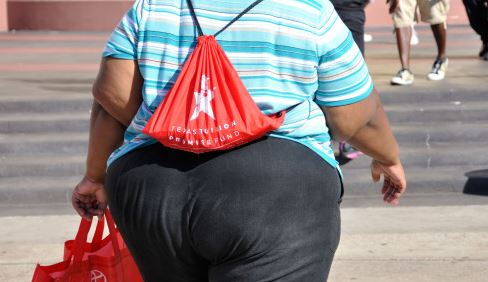 Obese people outnumber smokers two to one