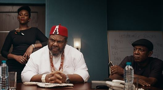 Genevieve reacts as Oscar disqualifies 'Lionheart'