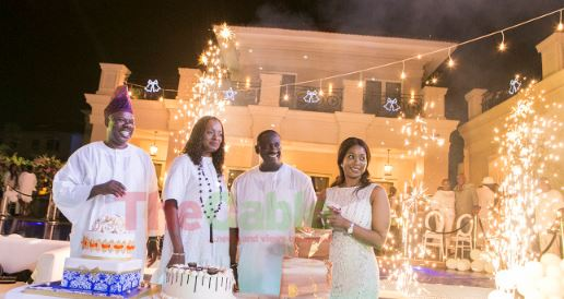 PHOTOS: Amosun, Gbajabiamila spotted at Tayo Ayeni's all-white birthday party | TheCable.ng