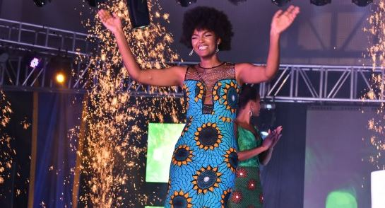 Congo's Dorcas Kasinde wins Miss Africa 2018 -- and her wig catches fire | TheCable.ng
