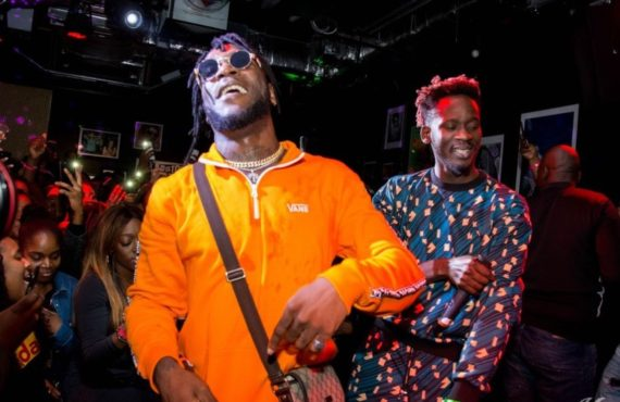 Burna Boy, mr Eazi and Teni are nominated for BET Awards 2019