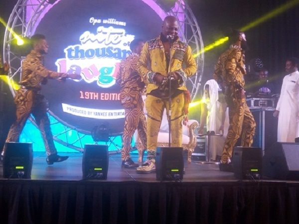 Charly Boy delivers exhilarating performance at comedy show