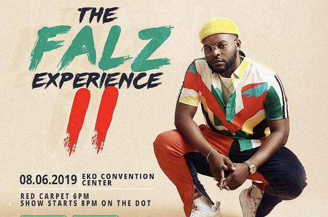 Falz announces date for second edition of 'The Falz Experience'