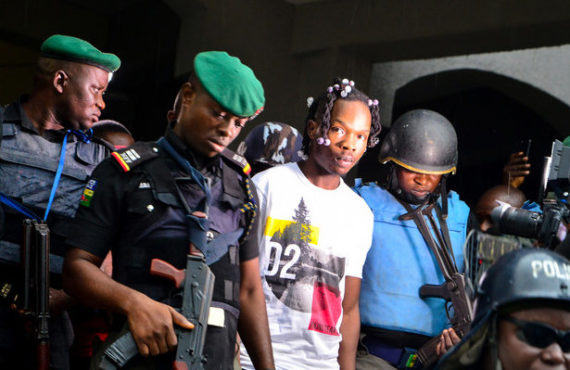 JUST IN: Naira Marley released from custody — two weeks…