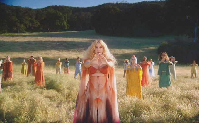 WATCH: Katy Perry ends music hiatus with 'Never Really Over'