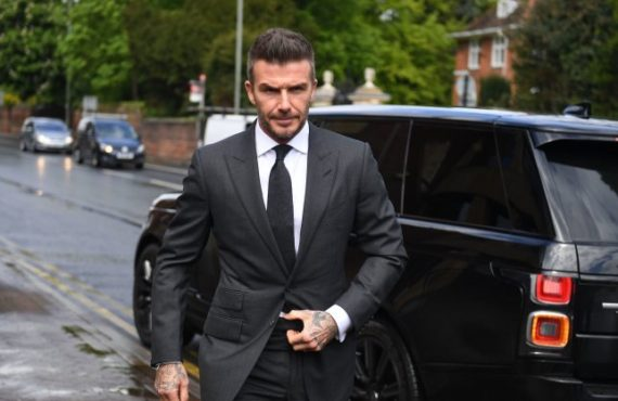 David Beckham gets 6-month driving ban for using phone behind the wheel