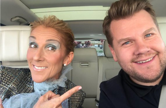 Celine Dion, James Corden creates modern day iconic 'Titanic' scene