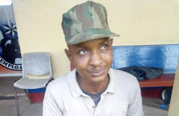 'Soldier' who assaulted Baba Fryo arrested