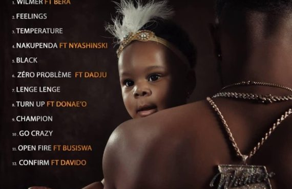 Patoranking shares 12-song tracklist for upcoming album 'Wilmer'