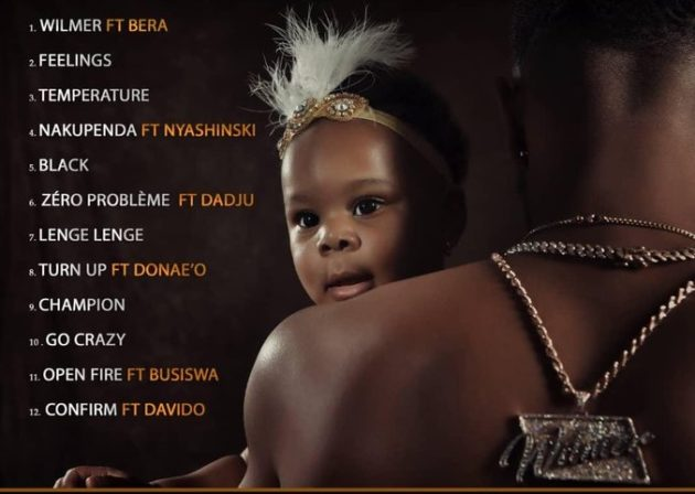 "Patoranking shares 12-song tracklist for upcoming album ""Wilmer"""