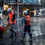 Australian workers entitled to stay off job on rainy days