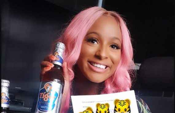 DJ Cuppy bags endorsement deal with Tiger Beer