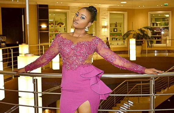 'Stop lying to Nigerians' -- Etinosa tackles MC Galaxy over nudity scandal